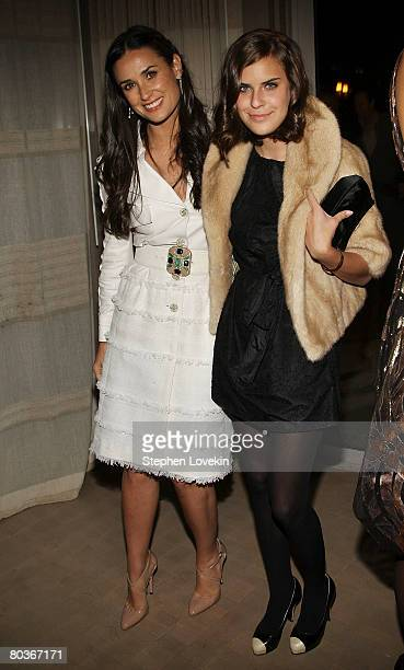 Actress Demi Moore and her daughter Tallulah Belle Willis attend the after party for the screening of Flawless hosted by The Cinema Society at the...