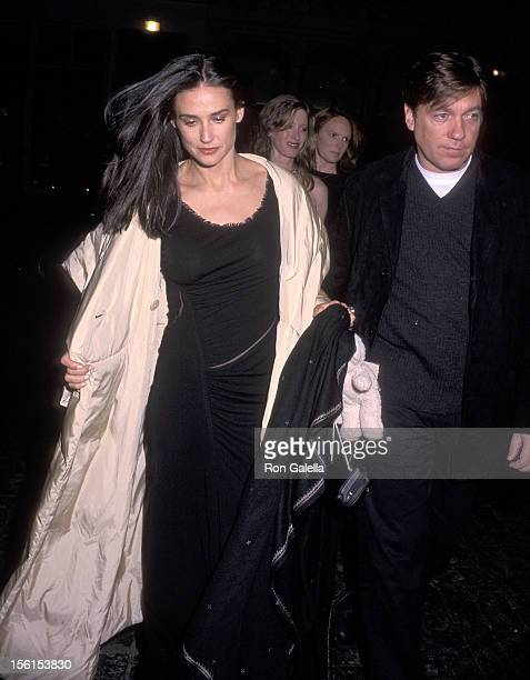 Actress Demi Moore and Hollywood agent Kevin Huvane attend a Silent Auction to Benefit the Children's Defense Fund on October 28 1999 at the French...