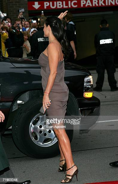 """Actress Demi Moore arrives at the Toronto International Film Festival gala presenation of the film """"Bobby"""" held at the Roy Thomson Hall on September..."""