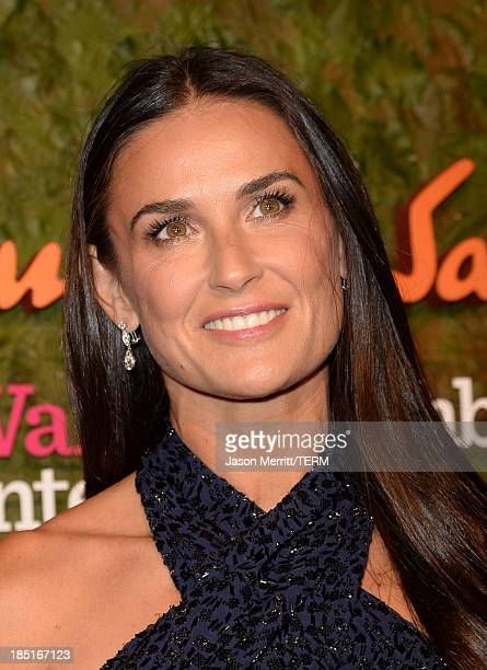 Actress Demi Moore arrives at the Wallis Annenberg Center for the Performing Arts Inaugural Gala presented by Salvatore Ferragamo at the Wallis...