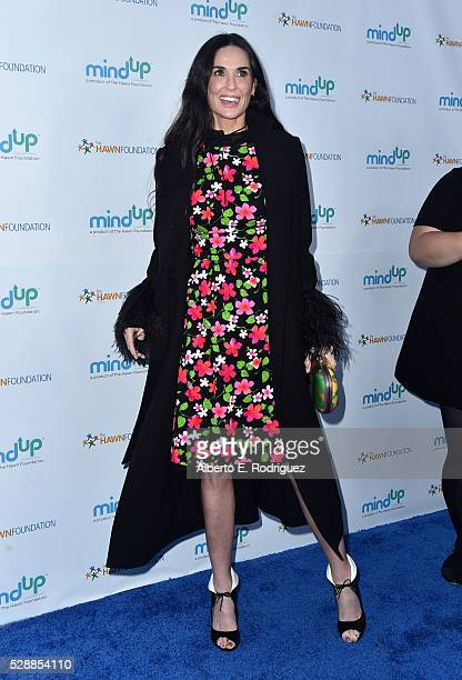 Actress Demi Moore attends Goldie Hawn's Annual Goldie's Love In For Kids on May 06 2016 in Beverly Hills California