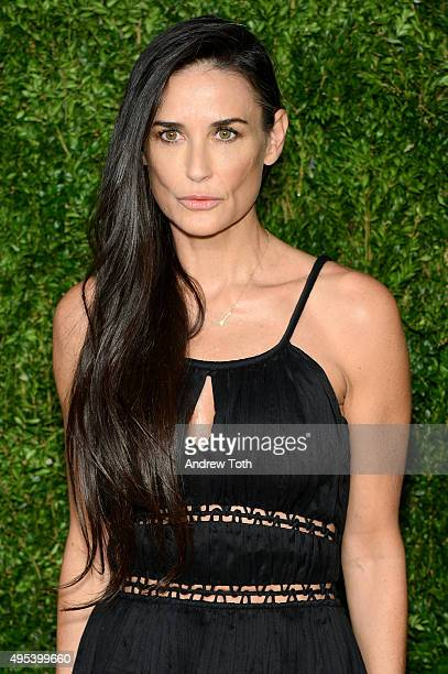 Actress Demi Moore attends the 12th annual CFDA/Vogue Fashion Fund Awards at Spring Studios on November 2 2015 in New York City