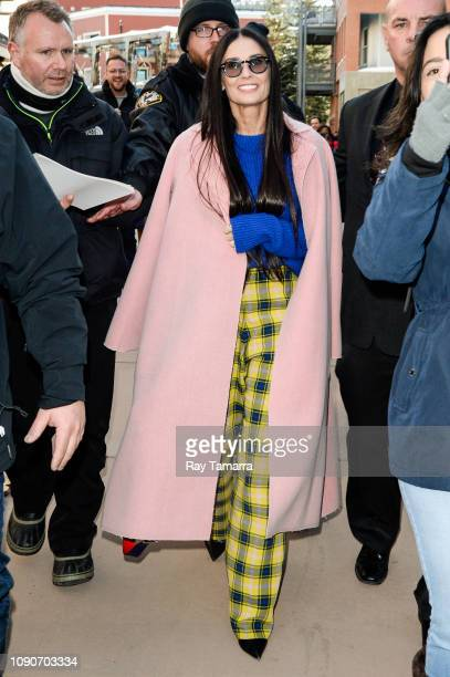 Actress Demi Moore attends the 2019 Sundance Film Festival on January 28 2019 in Park City Utah