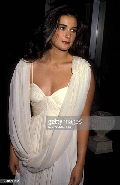 Actress Demi Moore attends the 41st Annual Golden Globe Awards on January 28 1984 at Beverly Hilton Hotel in Beverly Hills California