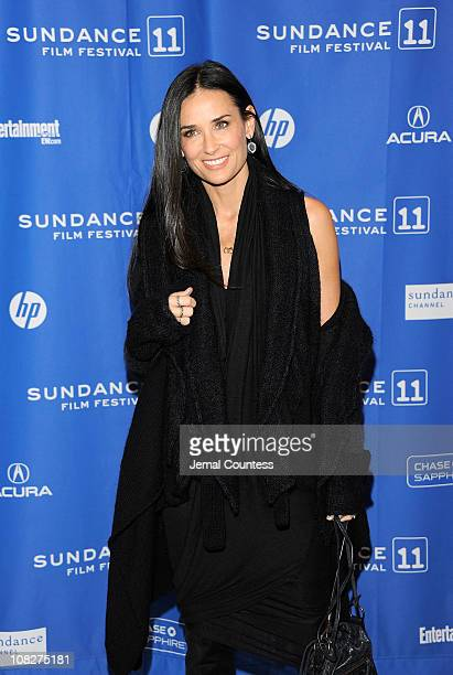 Actress Demi Moore attends the Another Happy Day Premiere at the Eccles Center Theatre during the 2011 Sundance Film Festival on January 23 2011 in...