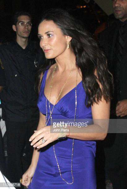 Actress Demi Moore attends the 'Flawless' movie premiere during the Miami International Film Festival at the Gusman Theatre on March 2 2008 in Miami...