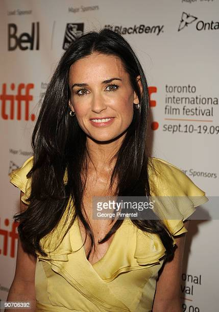 Actress Demi Moore attends 'The Joneses' Premiere at the Visa Screening Room At The Elgin Theatre during 2009 Toronto International Film Festival on...