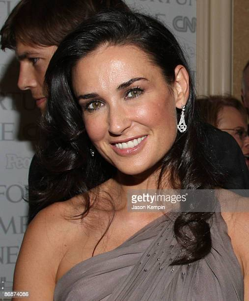 Actress Demi Moore attends the PEOPLETIMEFORTUNECNN White House Correspondent�s dinner cocktail party at Hilton Hotel on May 9 2009 in Washington DC