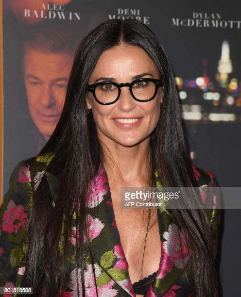 Actress Demi Moore attends the premiere of 'Blind' at Landmark Sunshine Cinema on June 26 2017 in New York City / AFP PHOTO / ANGELA WEISS