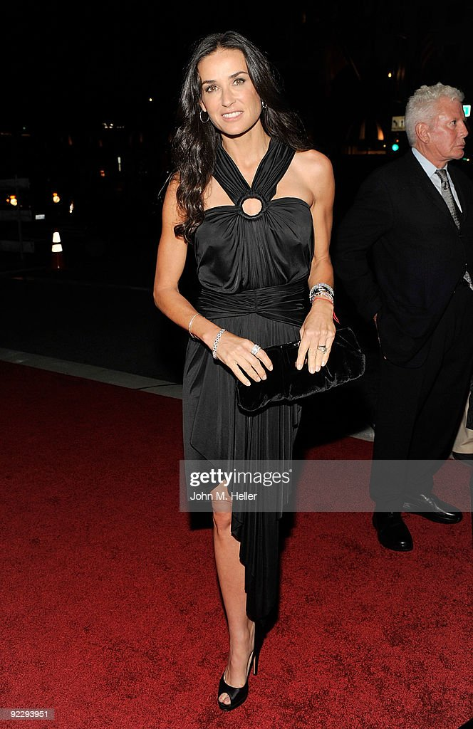 Actress Demi Moore attends the Rodeo Drive Walk Of Style held on Rodeo Drive on October 22, 2009 in Beverly Hills, California.