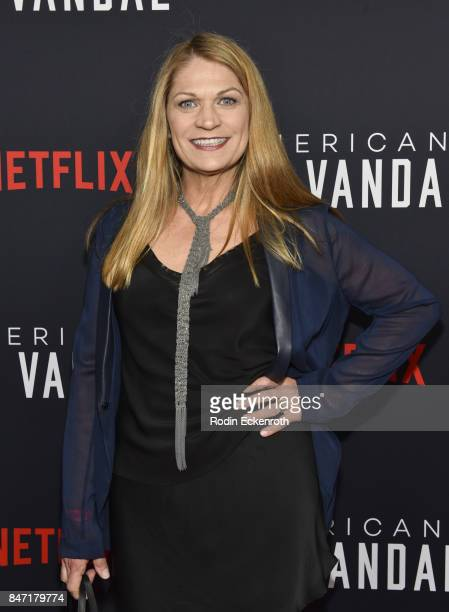 Actress Dendrie Taylor attends the premiere of Netflix's American Vandal at ArcLight Hollywood on September 14 2017 in Hollywood California