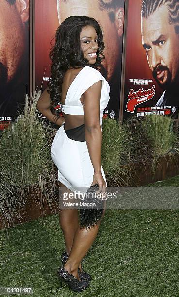 Actress Denee Busby attends the Premiere Of HBO's East Bound And Down 2nd Season on September 16 2010 in Hollywood California
