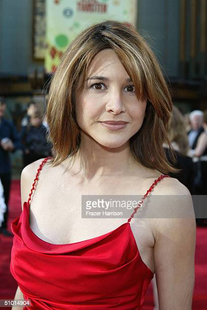 """Actress Denice Duff arrives at the World Premiere of """"LA Twister"""" on June 30, 2004 at the Grauman's Chinese Theatre, in Hollywood, California."""