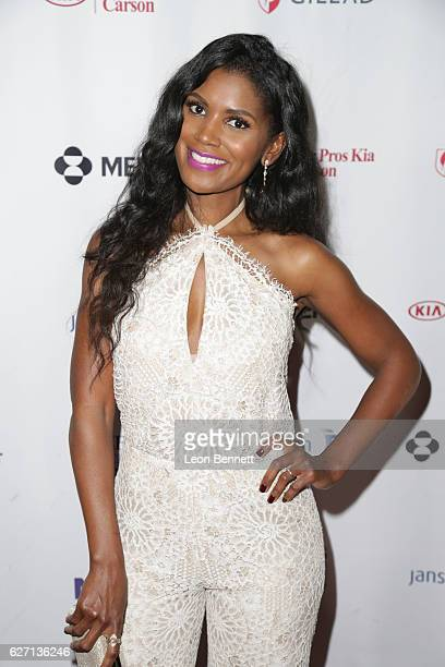 Actress Denise Boutte arrives at the Heroes In The Struggle Gala at Director's Guild Of America on December 1 2016 in West Hollywood California