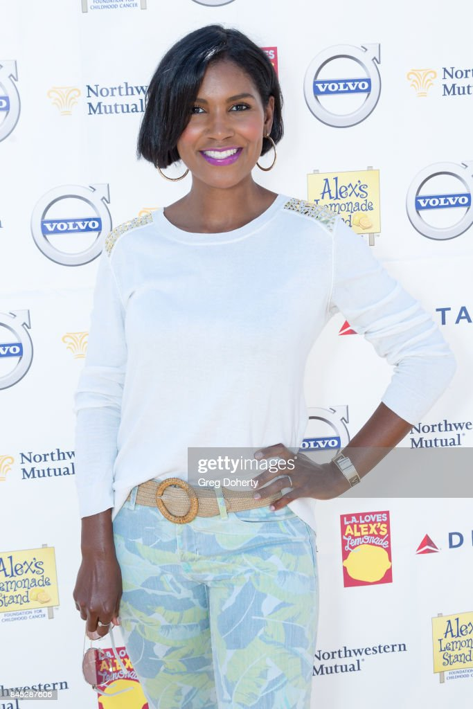 Actress Denise Boutte arrives for the 8th Annual L.A. Loves Alex's Lemonade at UCLA Royce Quad on September 9, 2017 in Los Angeles, California.