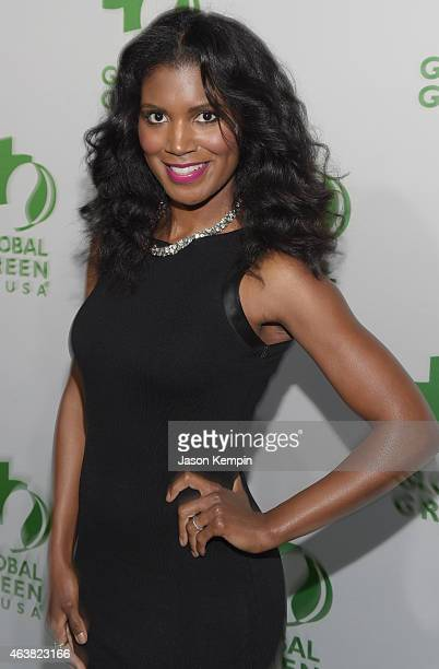 Actress Denise Boutte attends Global Green USA's 12th annual preOscar party at AVALON Hollywood on February 18 2015 in Hollywood California