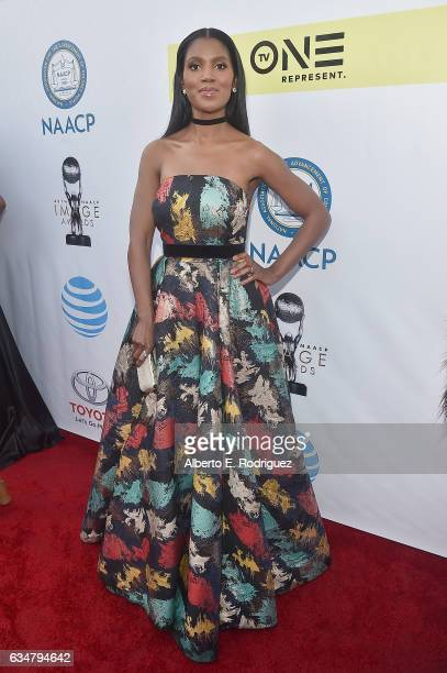 Actress Denise Boutte attends the 48th NAACP Image Awards at Pasadena Civic Auditorium on February 11 2017 in Pasadena California