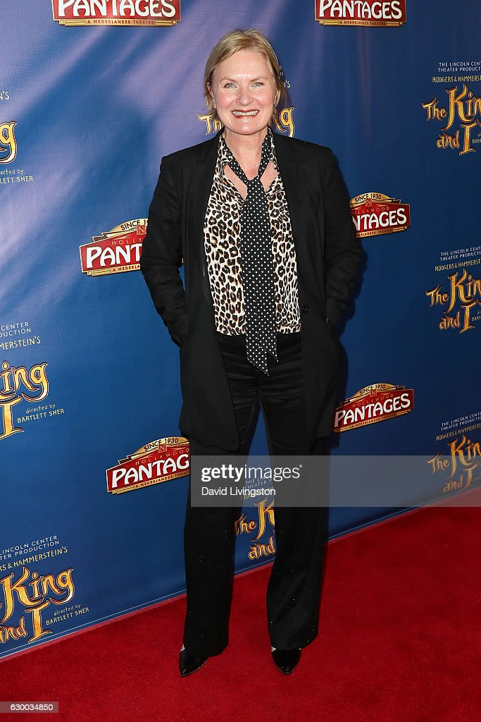 Actress Denise Crosby arrives at the Opening Night of The Lincoln Center Theater's Production Of Rodgers and Hammerstein's 'The King and I' at the Pantages Theatre on December 15, 2016 in Hollywood, California.