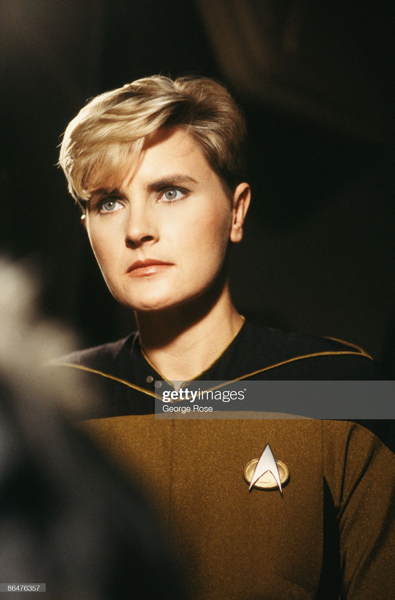 actress-denise-crosby-who-plays-security-officer-tasha-yar-on-the-hit-picture-id86476357