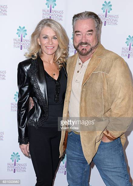 Actress Denise DuBarry and actor John Callahan attend the World Premiere of Do It Or Die at the 28th Annual Palm Springs International Film Festival...