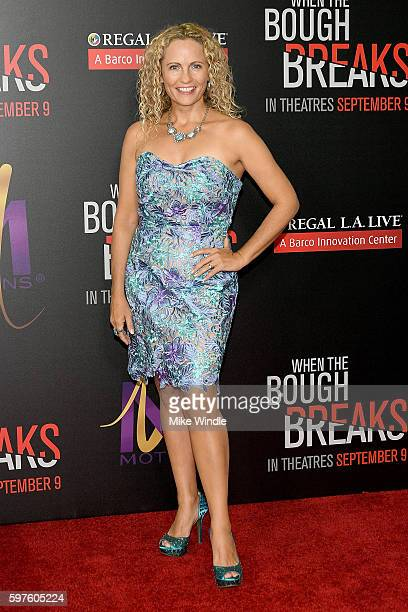 Actress Denise Gossett attends the premiere of Sony Pictures Releasing's 'When The Bough Breaks' at Regal LA Live Stadium 14 on August 28 2016 in Los...