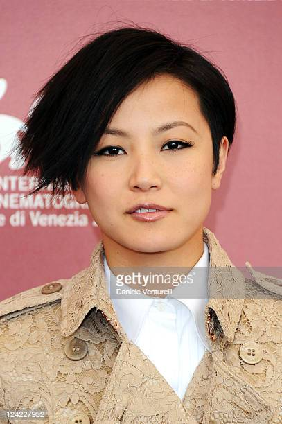"""Actress Denise Ho attends the """"Duo Mingjin"""" Photocall during the 68th Venice International Film Festival at Palazzo del Casino on September 9, 2011..."""