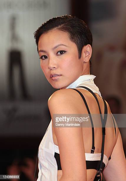"""Actress Denise Ho attends the """"Duo Mingjin"""" Premiere during the 68th Venice International Film Festival at Palazzo del Cinema on September 9, 2011 in..."""