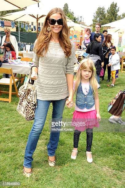 Actress Denise Richards and daughter Lola Rose Sheen attend the 22nd Annual Time for Heroes Celebrity Picnic sponsored by Disney to benefit the...