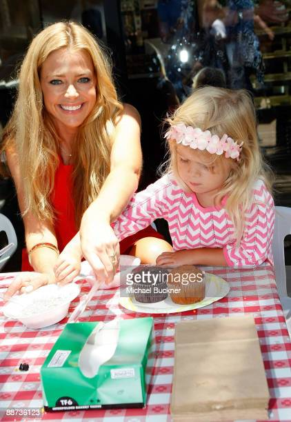 Actress Denise Richards and daughter Lola Rose Sheen attend the EB Medical Research Foundation picnic presented by Sinupret for Kids and Yogen Fruz...