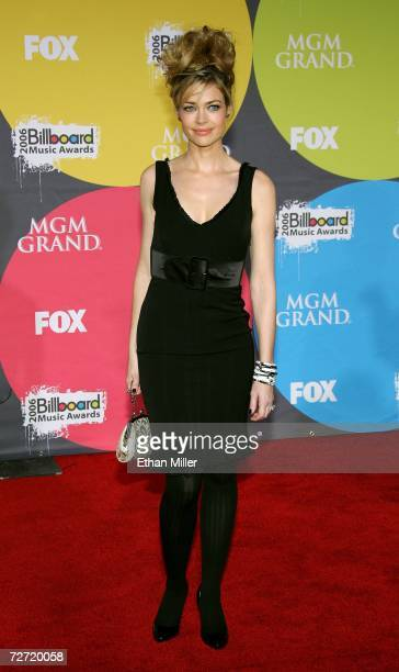 Actress Denise Richards arrives at the 2006 Billboard Music Awards at the MGM Grand Garden Arena December 4 2006 in Las Vegas Nevada