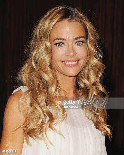 Actress Denise Richards arrives at The Alliance For Children's Rights 22nd Annual Dinner at The Beverly Hilton Hotel on April 7 2014 in Beverly Hills...