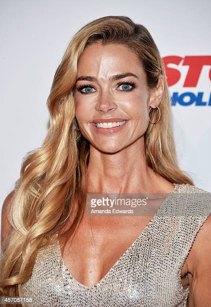 Actress Denise Richards arrives at the Children's Hospital Los Angeles Gala Noche de Ninos at the LA Live Event Deck on October 11 2014 in Los...