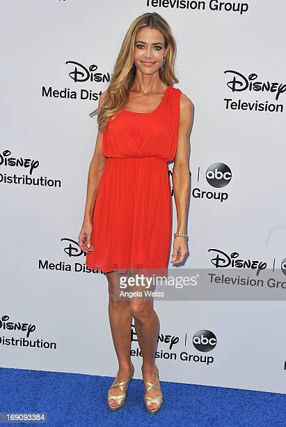 Actress Denise Richards arrives at the Disney Media Networks International Upfronts at Walt Disney Studios on May 19 2013 in Burbank California