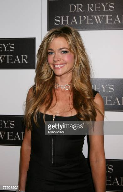 Actress Denise Richards arrives at the launch party for Dr Robert Rey's Shapewear hosted by Carmen Electra and Denise Richards held at Hollywood hot...