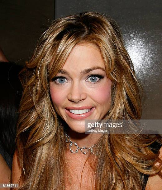 Actress Denise Richards arrives to the Dr Rey's Shapewear Instant Shape launch party at Opera on October 25 2007 in Hollywood California