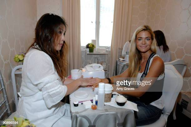Actress Denise Richards at the Kate Somerville Emmy Gifting Suite Event Day 1 at Kate Somerville on September 17 2009 in Los Angeles California