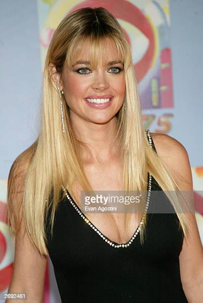 Actress Denise Richards attends CBS at 75 television gala at the Hammerstein Ballroom November 02 2003 in New York City