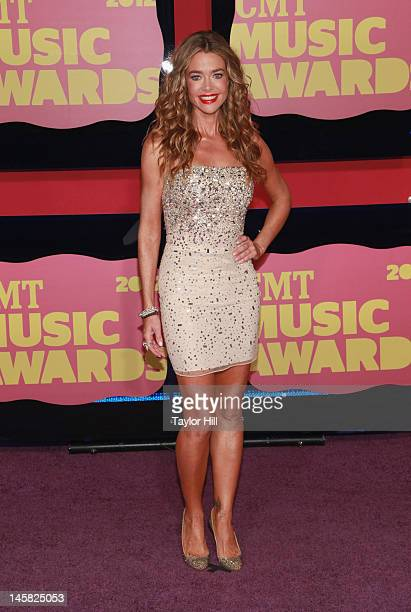 Actress Denise Richards attends the 2012 CMT Music awards at the Bridgestone Arena on June 6 2012 in Nashville Tennessee
