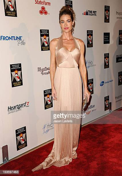 Actress Denise Richards attends the American Humane Association's 2nd annual Hero Dog Awards at The Beverly Hilton Hotel on October 6 2012 in Beverly...