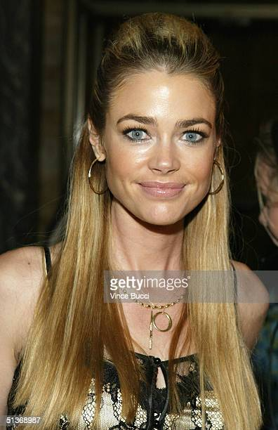 Actress Denise Richards attends the 'Women Rock' Lifetime Television's 5th annual concert for the fight against breast cancer at the Wiltern LG on...