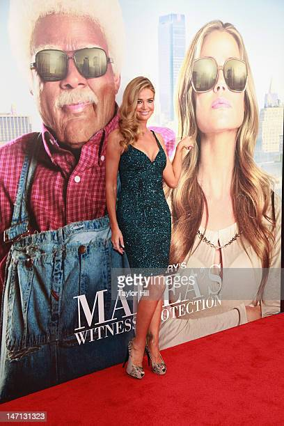 Actress Denise Richards attends Tyler Perry's Madea's Witness Protection New York Premiere at AMC Lincoln Square Theater on June 25 2012 in New York...