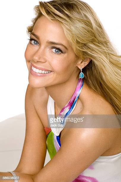Actress Denise Richards is photographed for Redbook Magazine in 2008 in Los Angeles California PUBLISHED IMAGE