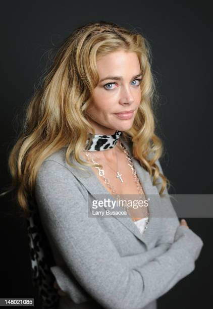Actress Denise Richards poses at the Hollywood Life House on January 18 2009 in Park City Utah