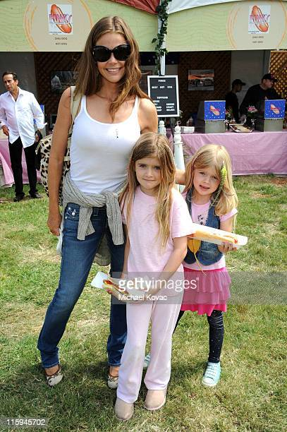 Actress Denise Richards with daughters Sam Sheen and Lola Rose Sheen attend the 22nd Annual Time for Heroes Celebrity Picnic sponsored by Disney to...