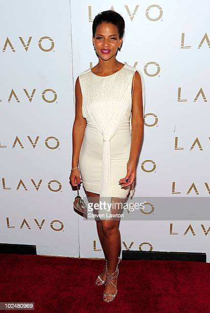 Actress Denise Vasi arrives at the 'All My Children' Daytime Emmy Post Award Celebration at Lavo on June 27 2010 in Las Vegas Nevada