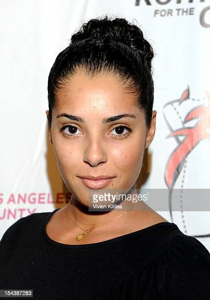 Actress Denise Xavier attends LA Fashion Week Fashion Minga 2012 Event at Exchange LA on October 18 2012 in Los Angeles California
