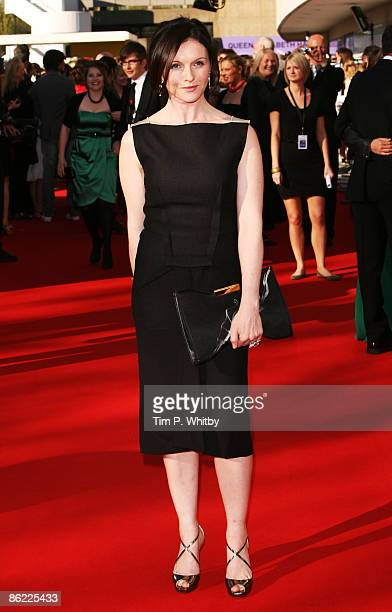 Actress Dervla Kirwan arrives at the BAFTA Television Awards 2009 at the Royal Festival Hall on April 26, 2009 in London, England.