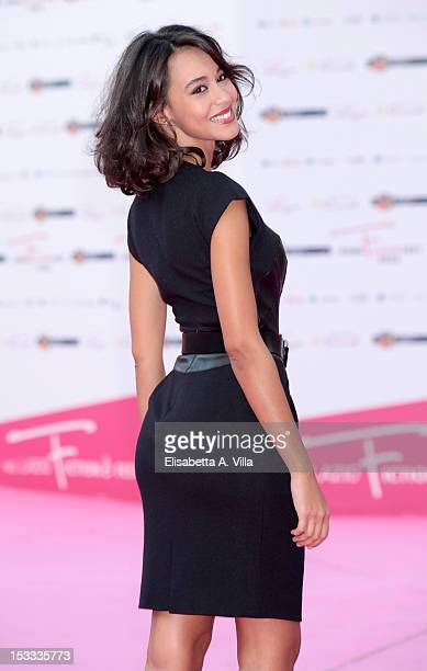 Actress Desiree Noferini attends 'Casa e Bottega' photocall during the 2012 RomaFictionFest at Auditorium Parco della Musica on October 3 2012 in...