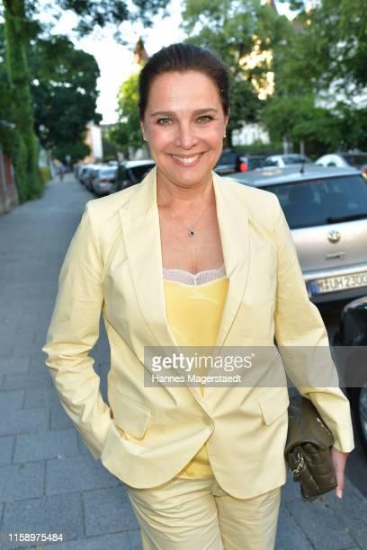 Actress Desiree Nosbusch attend the ARD Degeto Reception during the Munich Film Festival 2019 at Kaisergarten on June 28 2019 in Munich Germany