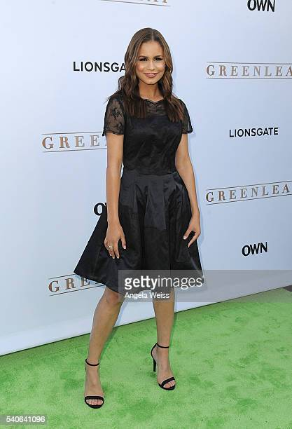 Actress Desiree Ross arrives at the premiere of OWN's Greenleaf at The Lot on June 15 2016 in West Hollywood California